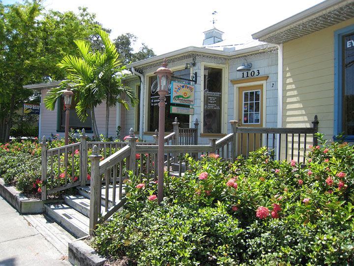 Sebastian Village shops in Sebastian Florida