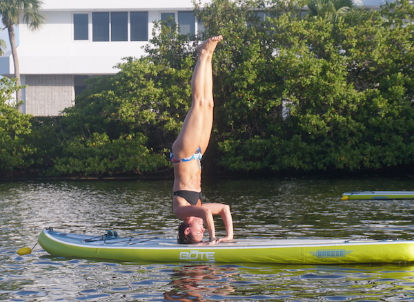 Paddle Board Yoga Sea Sup Vero Beach Florida