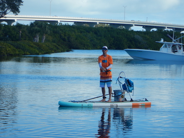 Standup Paddle Board Fishing Sea Sup Vero Beach Florida