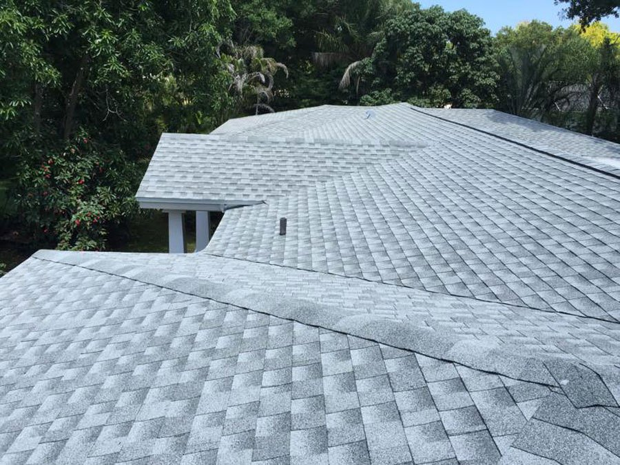 top of single roof