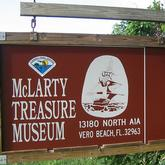 McLarty Treasure Museum sign