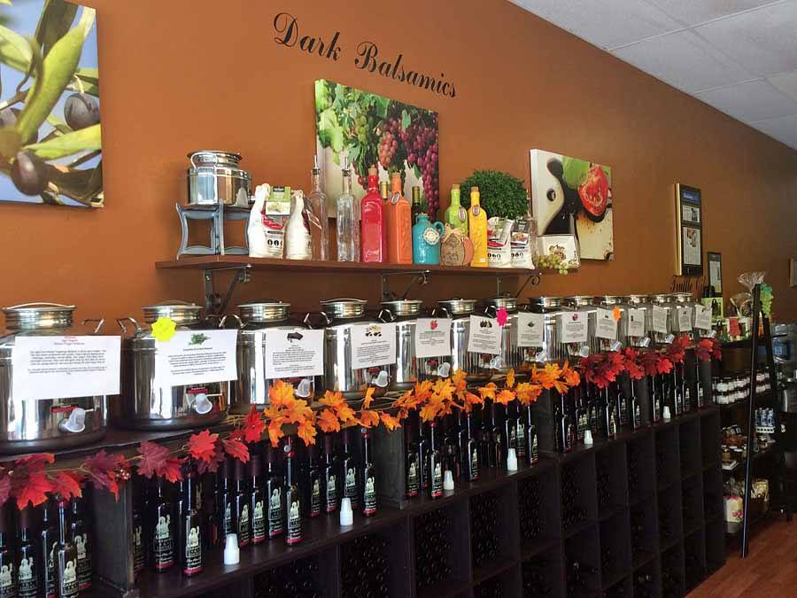 Imported balsamic vinegar in Vero Beach Carmine & Lucia's