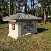 Donald McDonald Campground Sebastian Florida