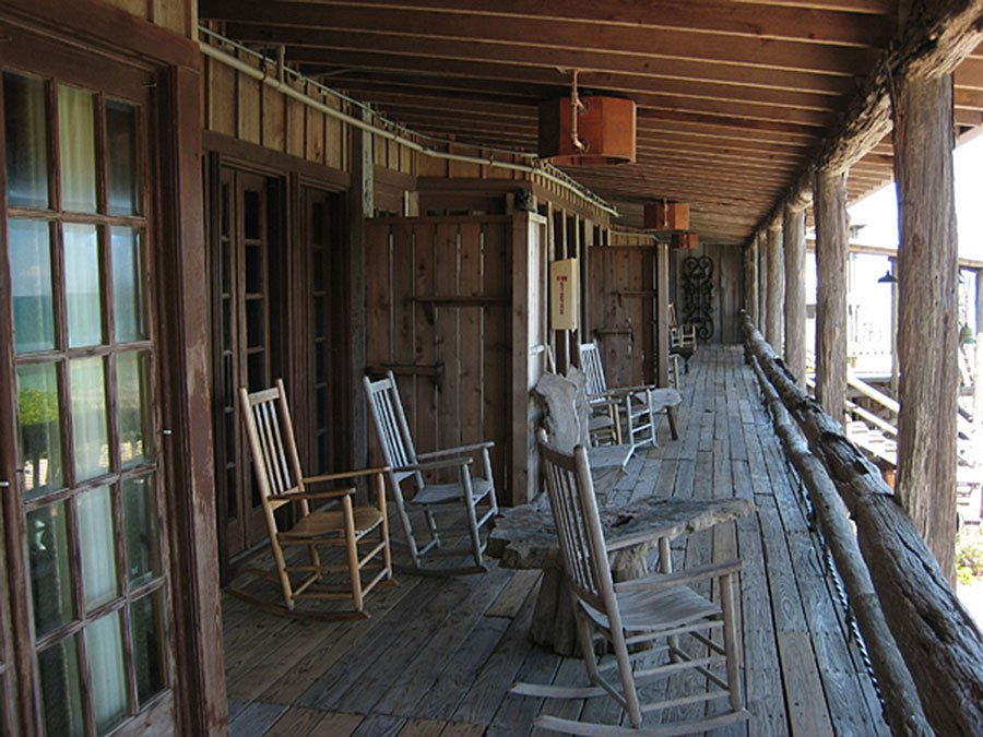Driftwood Resort Vero Beach Florida Porch
