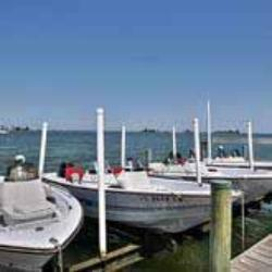 Boats for use at Oyster Pointe and Oyster Bay Resorts Sebastian Florida