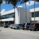 Front view of the Indian River County Library Vero Beach Florida