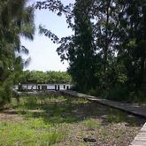 view of dock at Joe Earman Island Park Vero Beach Florida