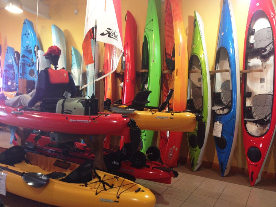Kayaks for sale and rent