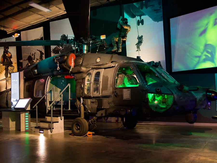 The National Navy UDT-SEAL Museum Black Hawk
