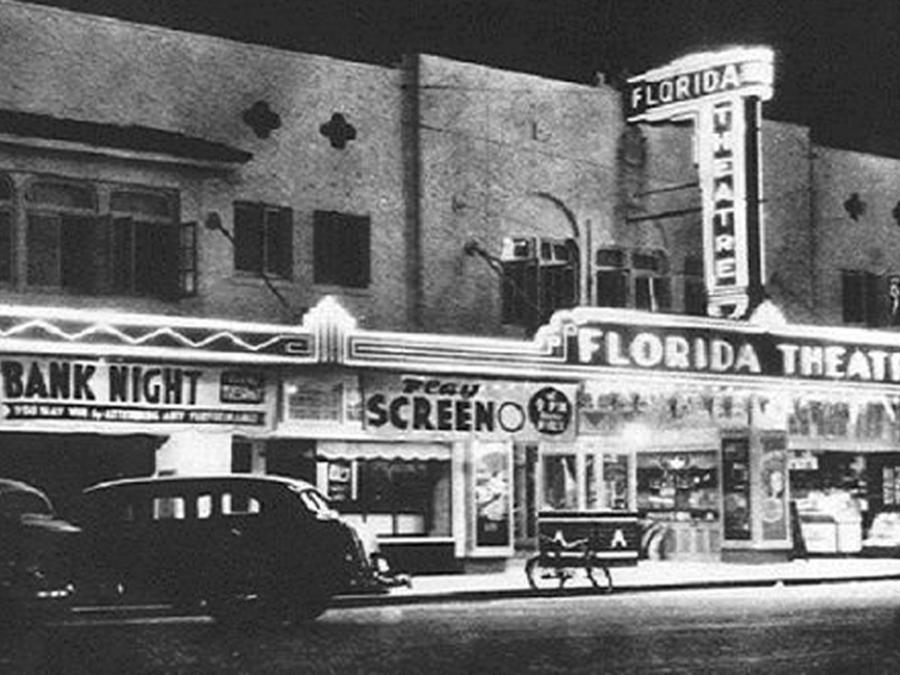 Historic Downtown Vero Beach old photo of theatre