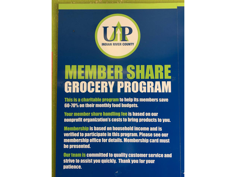 Poster for Grocery program