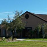 Front view of Oslo Middle School Vero Beach Florida