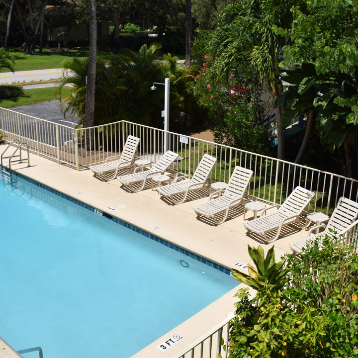 Sea Spray Inn Vero Beach Florida pool