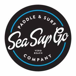 Sea Sup Go logo Vero Beach Florida logo