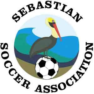Sebastian Soccer Association Logo Sebastian Florida logo
