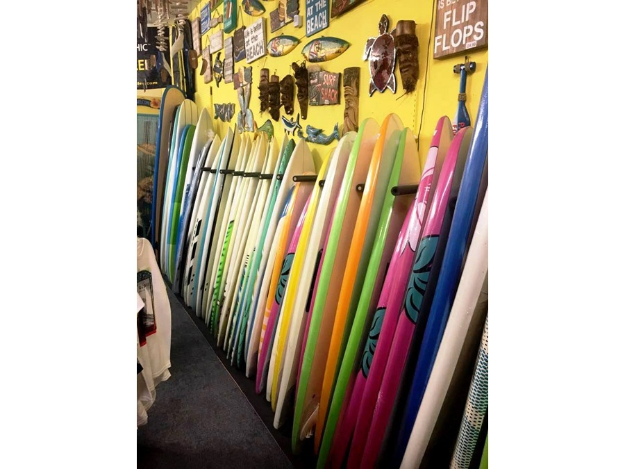 Surf boards to rent