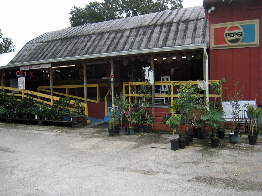 Store front of Peterson Groves Vero Beach Florida