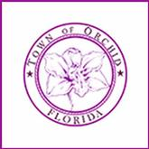 Town of Orchid Florida logo