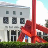 Large Sculpture in front of the Vero Beach Museum of Art Vero Beach FLorida