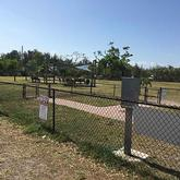 View of  Vero Beach Dog Park Vero Beach Florida from outside fence