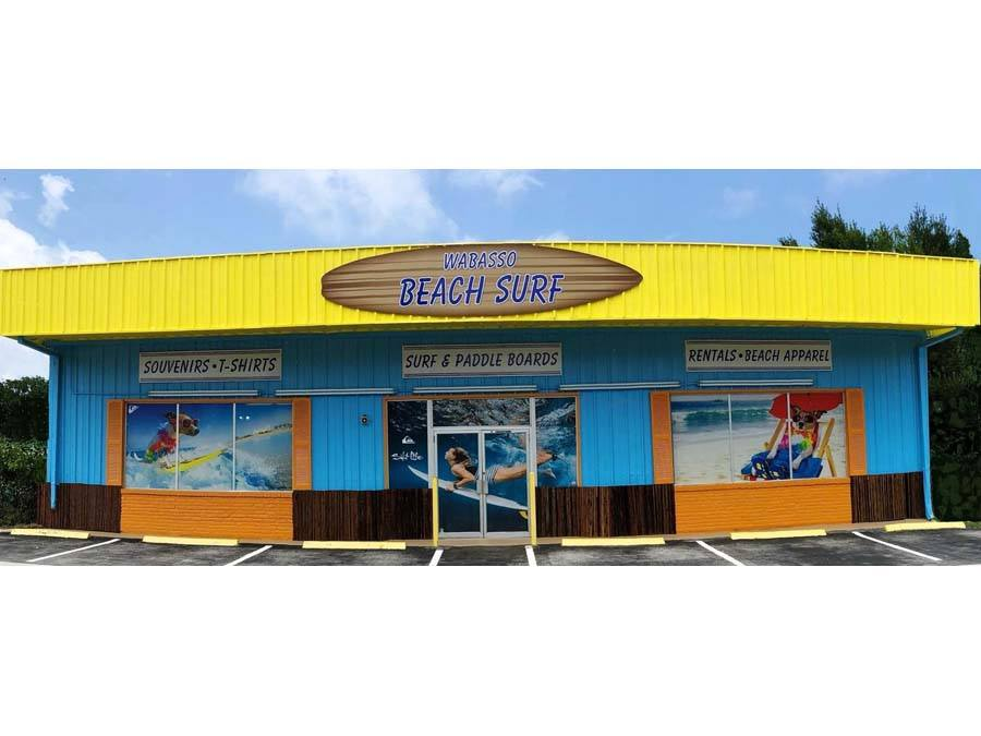Wabasso Beach & Surf Shop exterior front view of building