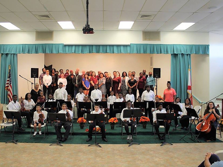Gifford Youth Orchestra Vero Beach Florida