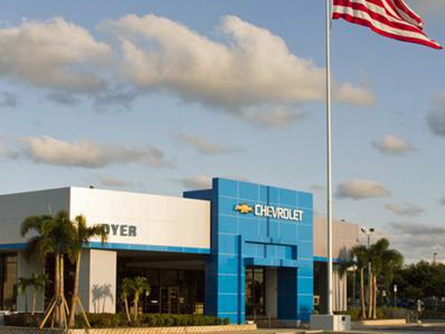 Front view of Dyer Chevrolet