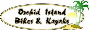 Orchid Island Bikes and Kayaks Vero Beach Florida logo