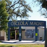 Front view of the Osceola Magnet School Vero Beach Florida