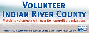 Volunteer Indian River County Vero Beach Florida logo