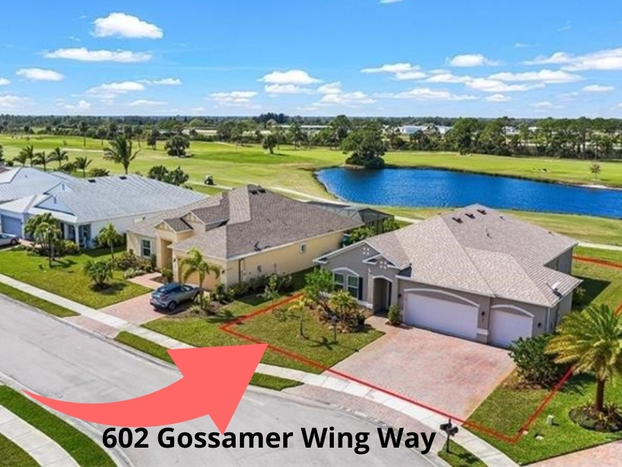 UNDER CONTRACT - Lake & Golf Views from 3 Bedroom + Den, 3 car Garage in gated Collier Club, Low HOA fees -  Offered at $400,000