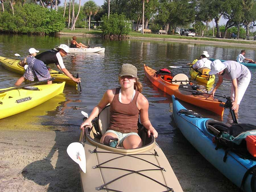 Kayak tour on the Indian River with Tropical Kayak Tours