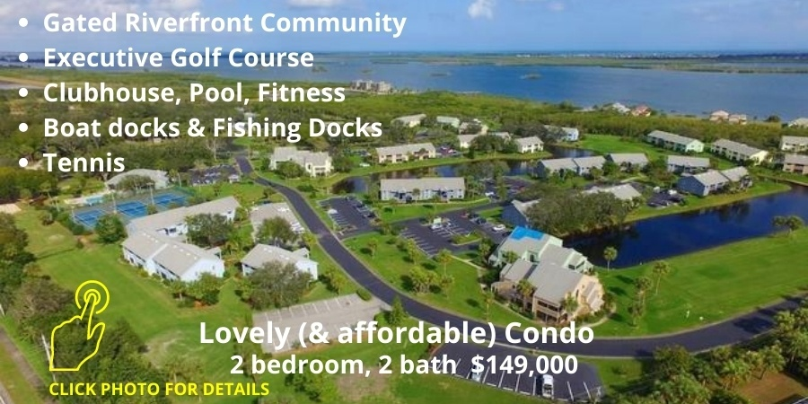 Pelican Pointe condo $149,000 listed by Tyler Fox, Realtor call/ / text (772) 538-3733