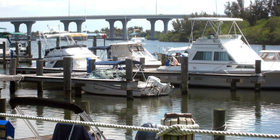 Pull up your boat at the City Marina at mile marker 139 on the Intracoastal Waterway