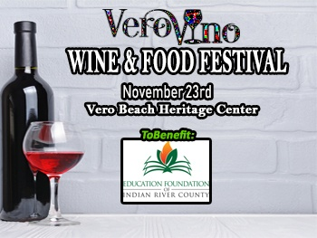 Vero Vino Wine Festival Display Ad